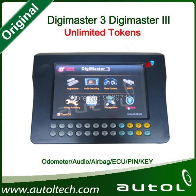 Original Yanhua Digimaster 3 Digimaster III Odometer Correction Master Online Update digimaster3 Unlimited Tokens Free Shipping(China (Mainland))