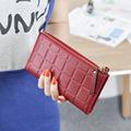 New 2017 Women Fashion Tassel Wallet Two Fold Double Zipper Long Clutch Casual Handbag Coin Purse
