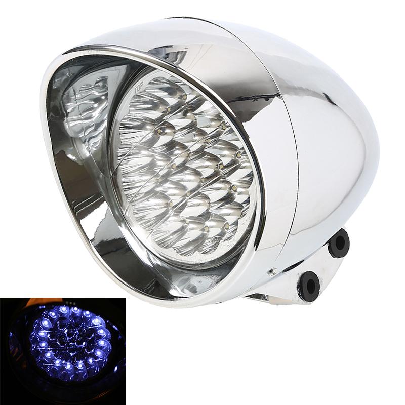New motocicleta Motocross Universal LED Motorcycle Head Light Headlight Lamp For Harley Honda Suzuki Kawasaki Yamaha Accessories(China (Mainland))