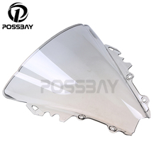 Buy Gray Bike Motorcycle Windshield Windscreens/Wind Deflector Scooter Windscreen Dirt Bike Cafe Racer Yamaha R6 2006 2007 for $15.99 in AliExpress store