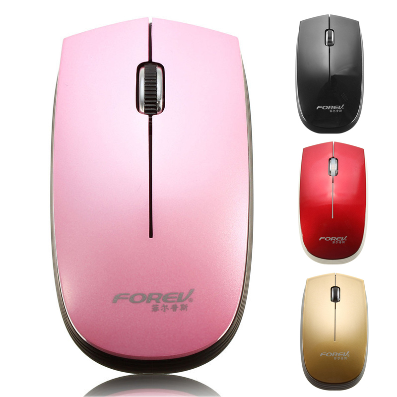 FOREV FV-108 2.4G USB Optical Wireless Mini Mouse For Computer Laptop 10M Working Distance 2.4G Receiver Mouse Mice With Battery(China (Mainland))