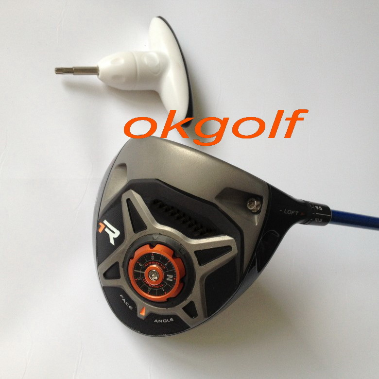 profession new golf driver TM R1 black driver adjust 8 to 12 degree with tour AD stiff shaft best quality golf clubs driver(China (Mainland))