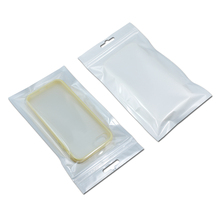150pcs White/Clear Retail Packaging Plastic Poly bag for cell phone case, case for iPhone 6 5S 5 4S 4 Samsung Galaxy S5 S4 S3 S2(China (Mainland))