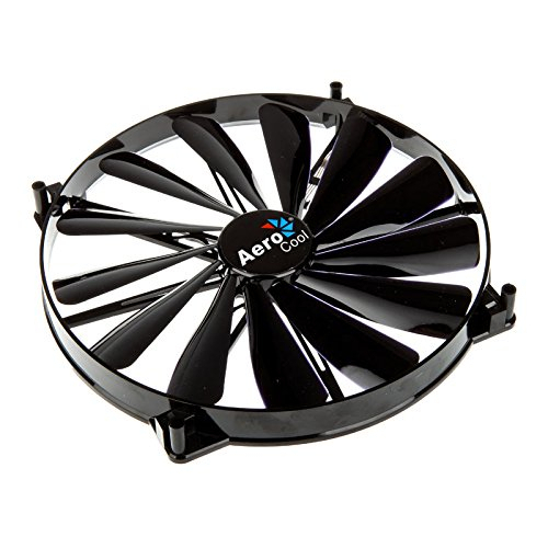 Wholesale Aerocool Dark Force Case Cooling Fan 200mm Black Edition With 3 Pin & 4 Pin For Computer PC Case Cooling(China (Mainland))