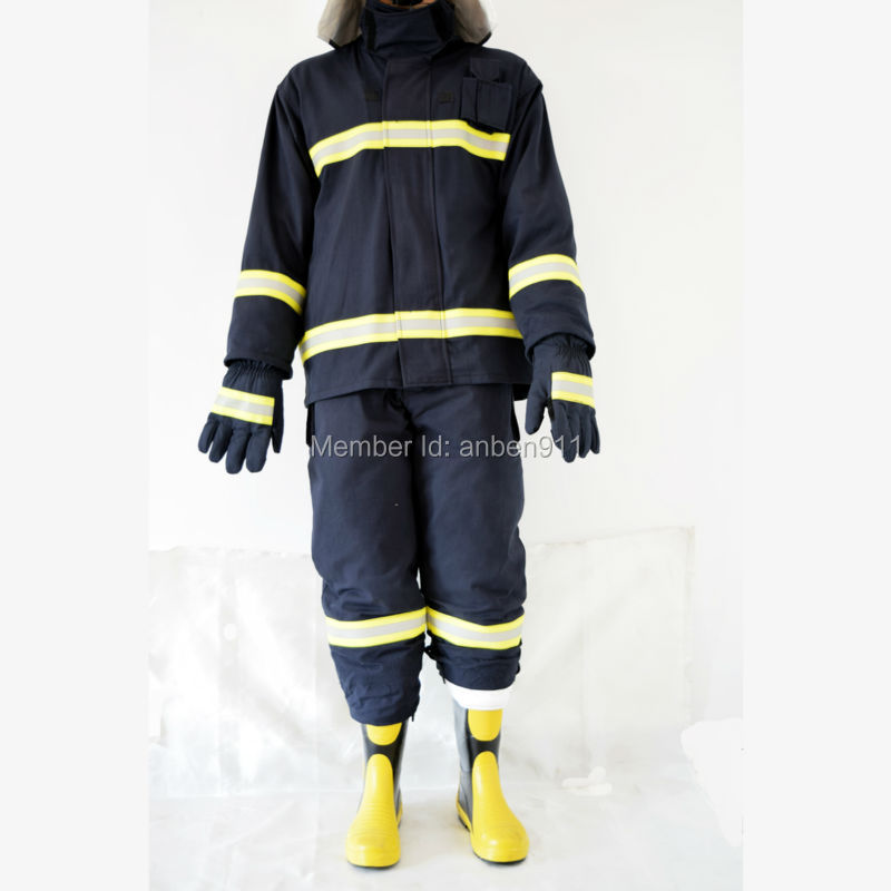 2017 New Factory direct sale CE and NFPA Firemen Fire Fighting Suit Fire Fighting Fire Jacket