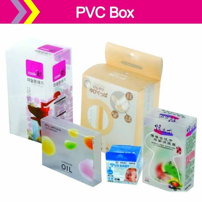 Clear PVC Box For Product Packaging, PVC Clear Box For Shoe