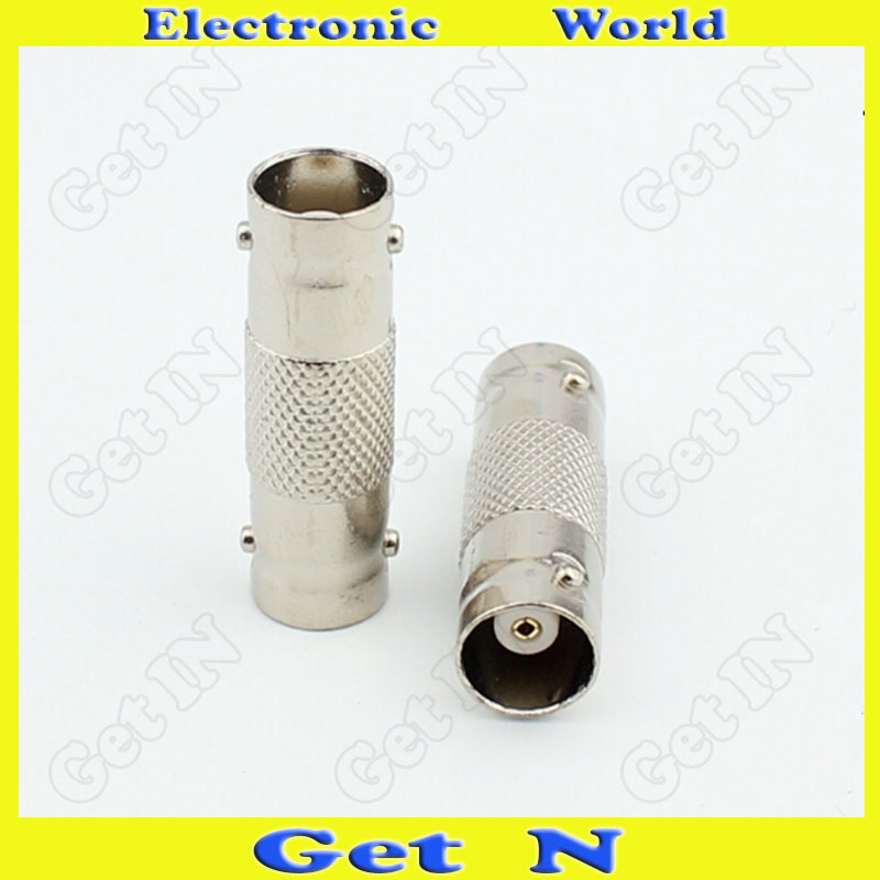 200pcs Manufacturer Direct Selling Brand New KK 2-Way BNC/Q9 Video Connector 75-5 BNC Q9 Connector(China (Mainland))