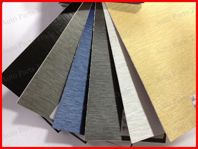 1 Pc 1 52mx50cm Aluminum Brush Vinyl Car Wrap Aluminium