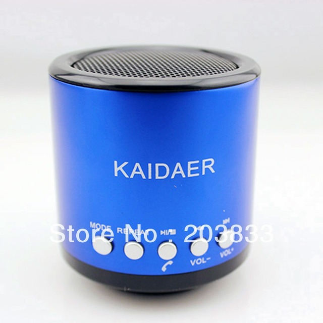Mini Speaker Kaidaer Bluetooth Wireless Portable FM Radio/SD/USB Stereo Speaker