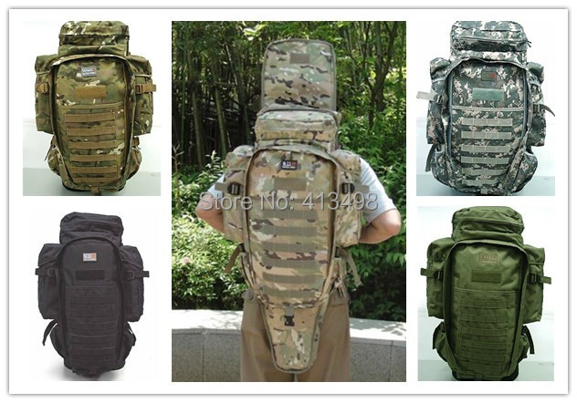 Outdoor Sports Molle Tactical Airsoft Rifle M4 Carbine Gun backpack mountaineering travel camping Hiking Fishing bag(China (Mainland))