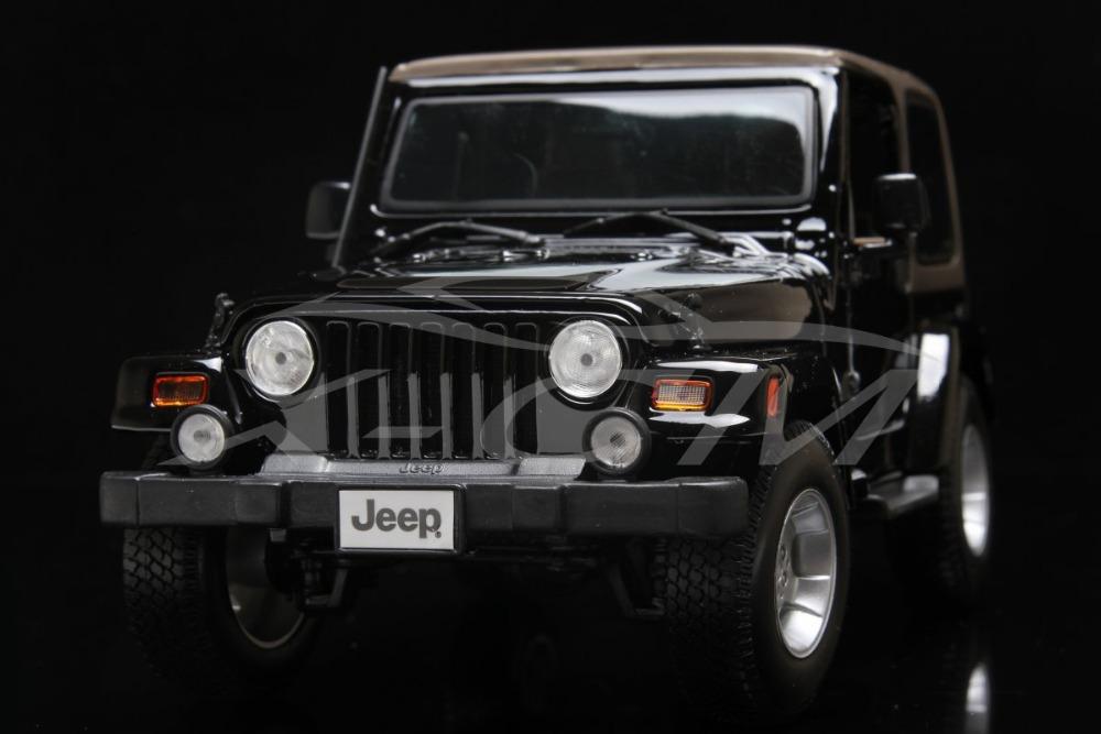 Diecast Car Model Maisto Jeep Wrangler 1:18 (Black/Grey) + SMALL GIFT!!!!!!!!!(China (Mainland))