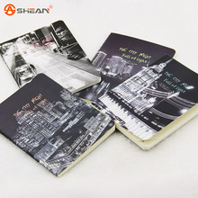 Lovely Mini Creative Star Sky City Lights Summer Beach A6 Notebook Diary Book Exercise Composition Notepad Gift Stationery