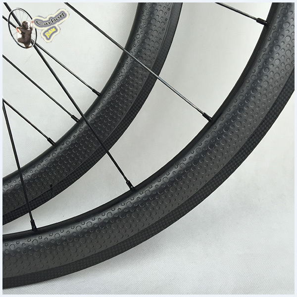 enduro carbon wheels glossy 700c bicycle wheels wheels carbon wheelset taiwan dimple suface(China (Mainland))