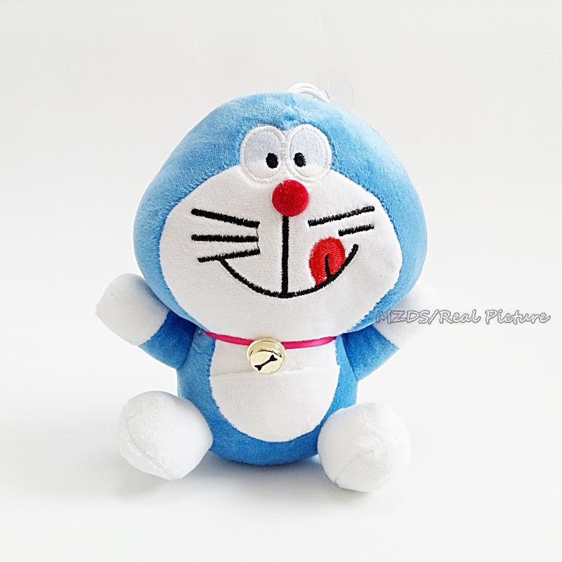 Hot Sale Sitting 18cm Doraemon Plush Toys Cute Japanese Anime Figure Soft Stuffed Dolls 4 Styles Free Shipping(China (Mainland))