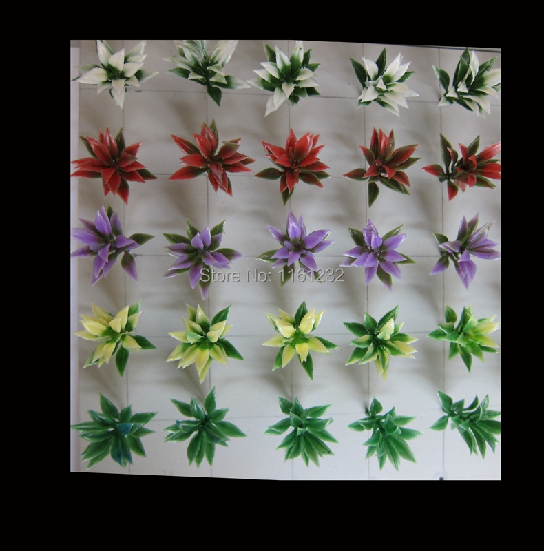 hot sale small plant artificial flowers and 3cm scape plants for outdoor layout Ho train model building(China (Mainland))