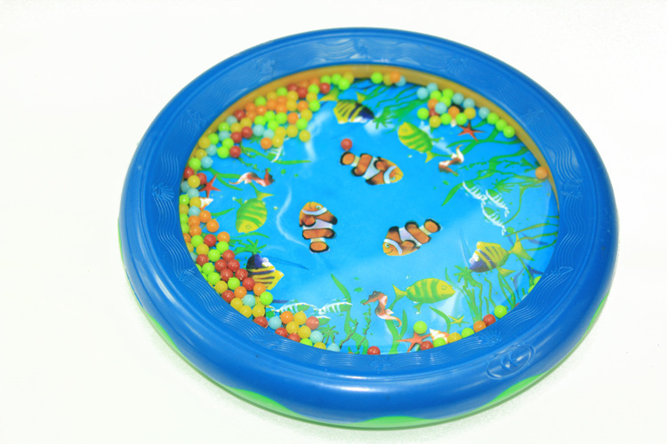 Baby Ocean Wave Drum Gentle Sea Sound Toys Toddler Early Educational Learning Music Toy Tools For Unisex Kids HLG-001(China (Mainland))