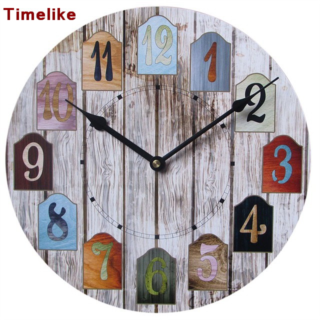 Mdf wall clock reviews online shopping mdf wall clock for Decoration murale neon