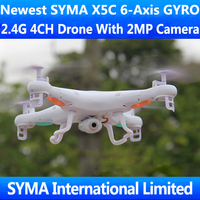 SYMA X5A X5 X5C with 2MP HD Camera Cam 2.4Ghz 4CH RC Quadcopter Quadricopter 6-Axis GYRO Helicopter UFO VS Parrot Ar.Drone 2.0
