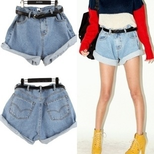 High waisted jean shorts cuffed – Your new jeans photo blog