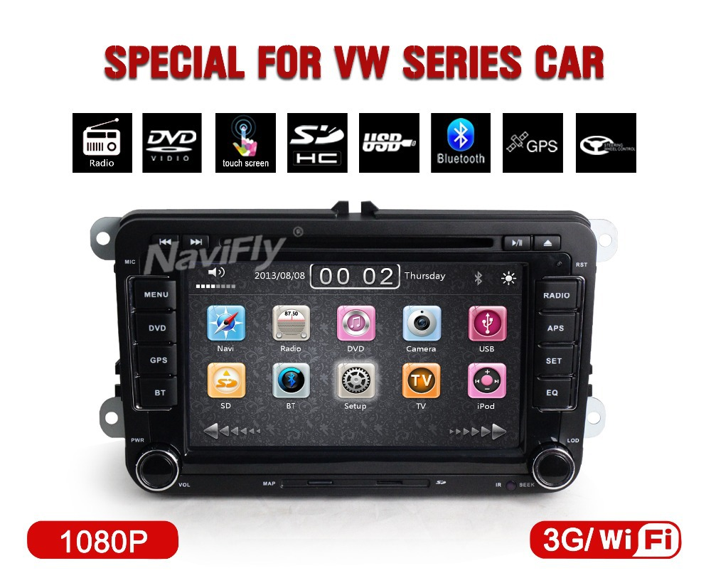 3G wifi+Factory price!+CAR audio/cassette /recorder palyer for VW Volkswagen Jetta Passat B6 B7 EOS Bora GPS 3G USB BT +map(China (Mainland))