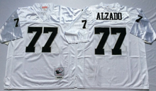 Stitiched,Oakland Raiders Howie Long lyle alzado Throwback for men()
