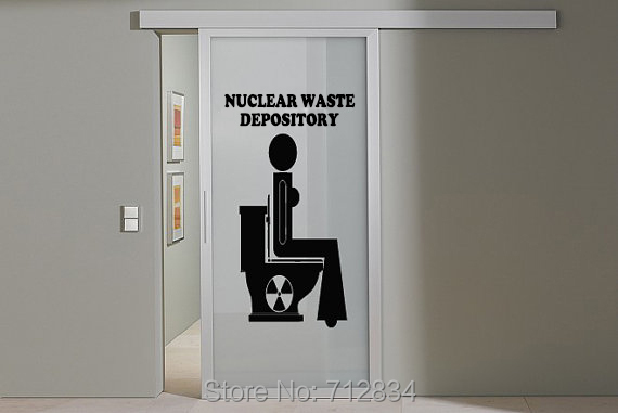 B z d free shipping home decoration nuclear waste art for Home decor using waste