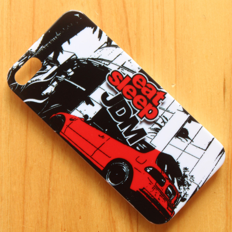 JDM STICKER BOMB Illest Hellaflush Back phone case hard back cover iphone 4s 5s 6 6s - zhengchun store