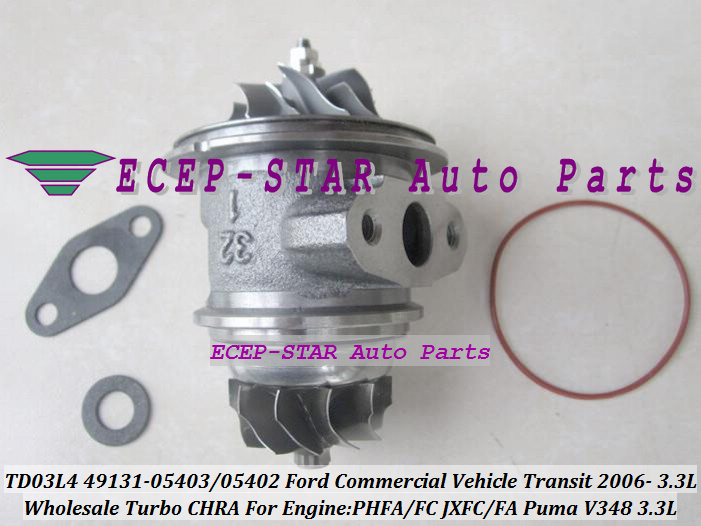 TD03L4 49131-05403 49131-05402 Turbo Turbocharger For Ford Transit 2006- PHFA PHFC JXFC JXFA Puma V348 3.3L 49131-05210 (4)