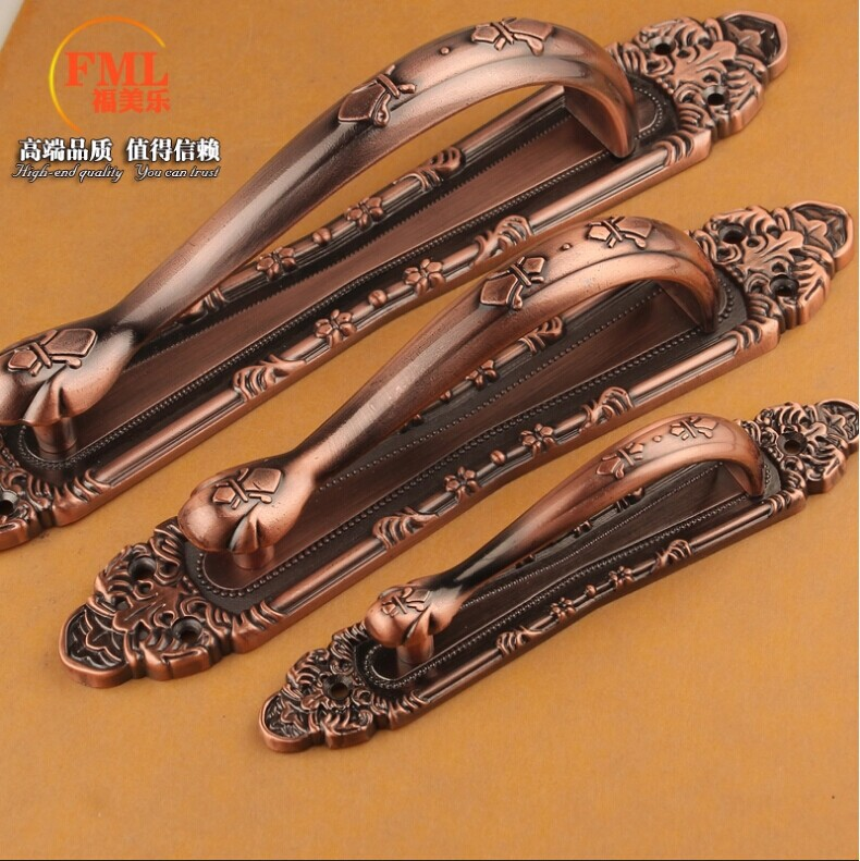 Wholesale Hardware accessories 2014 new Europe Quality Vintage Furniture handles Door handle Door knob Pull 300mm  Free shipping<br><br>Aliexpress