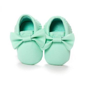 Новые Кисти Ребенка Мокасины Новорожденных Обувь Мягкое Дно кожа PU Prewalkers Сапоги SL01