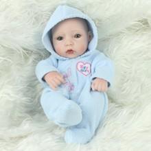 Buy Full Body Silicone Reborn Baby Reborn Full Vinyl Dolls 10 Inch Mini Baby Doll Realistic Baby Dolls Toys Children
