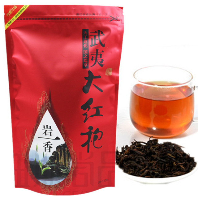 500g Top Grade clovershrub Da Hong Pao Red Robe dahongpao Oolong Tea Lose weight the tea black antifatigue free shipping