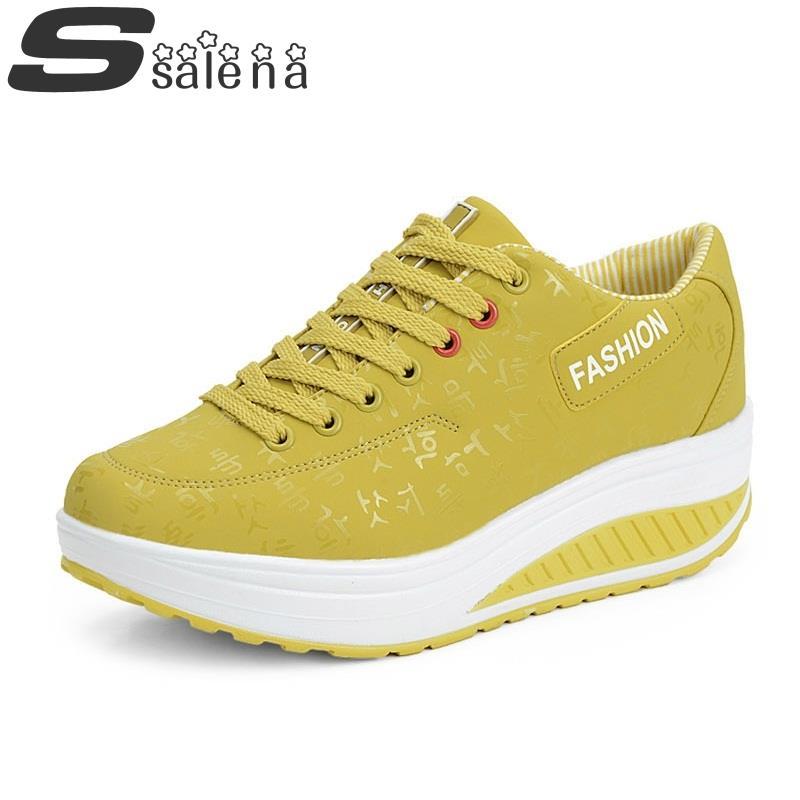 2014 Fashion Women's Sneakers sneaker Shoes, Women's Sneakers Shoes Platform, Rocking Shoes, Fitness Shoes,Women's Sneakers