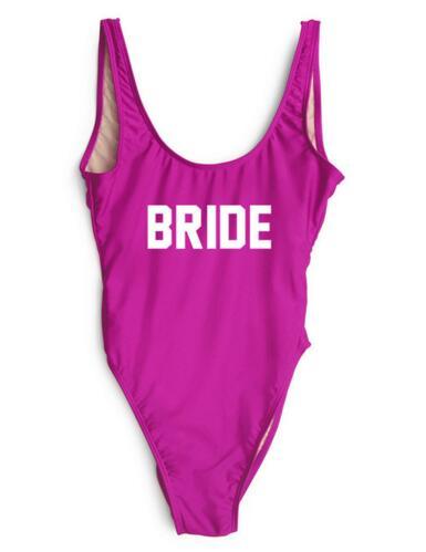 bride swimwear women sexy backless swimsuit bathing suit jumpsuit