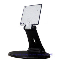 10 to 24 inch universal LCD/LED/TV Monitor pedestals, metal plastic double folding monitor stand,Circular folded base
