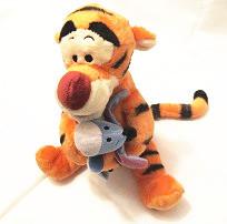 Original Rare Tigger Hug Eeyore Tiger Donkey Animal Soft Stuff Plush Toy Kids Birthday Gift(China (Mainland))
