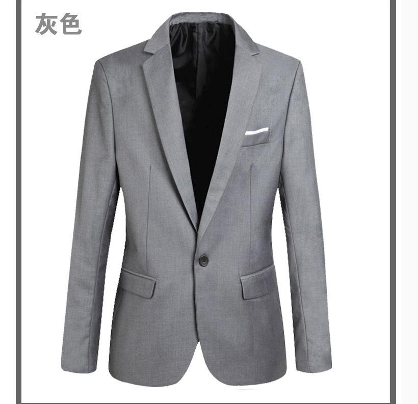 2015 Top Suit Jacket For Men Terno Masculino Suit Blazers Jackets Traje Hombre Mens Casual Blazer 2 Colors Size M-XXXXLОдежда и ак�е��уары<br><br><br>Aliexpress