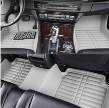 & ! Custom special floor mats Fiat Freemont 5seats 2014-2012 waterproof carpet fo 2013 - Mary Auto Accessories shop store