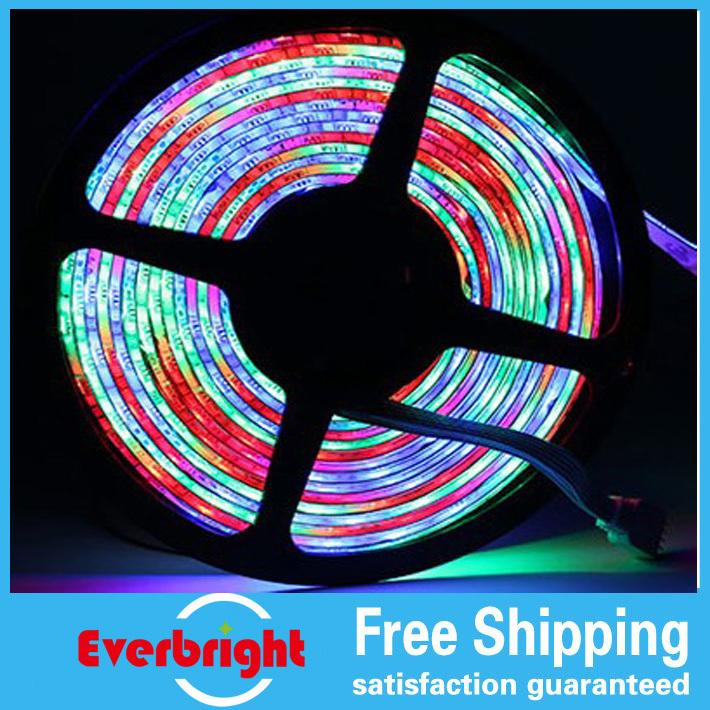 Hot Dream color led run strip waterproof 54LED/M Intelligent Multi-color LED strip SMD5050 5M/Reel DC12V input led lamp<br><br>Aliexpress
