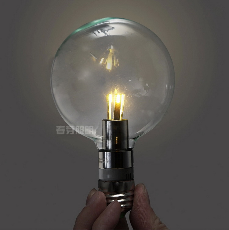 Acheter antique retro vintage 220 v edison ampoule led e27 lampe incandescence - La lampe a incandescence ...