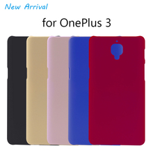 2016 OnePlus 3 Case Cover Matte Protective Plastic Back Phone Cases Hard One Plus Shell 5.5 - ONENINE Store store