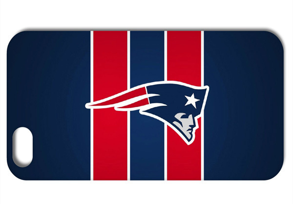 Logo For New England Patriots NFL style hard back cover case for iphone 4 4s 5 5S 5C Q657(China (Mainland))