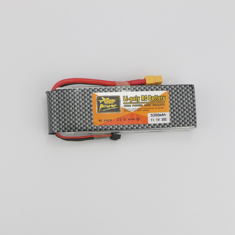 3S lipo battery 11.1v 5200mAh 30C rc helicopter rc car rc boat quadcopter remote control toys Li-Polymer battey(China (Mainland))