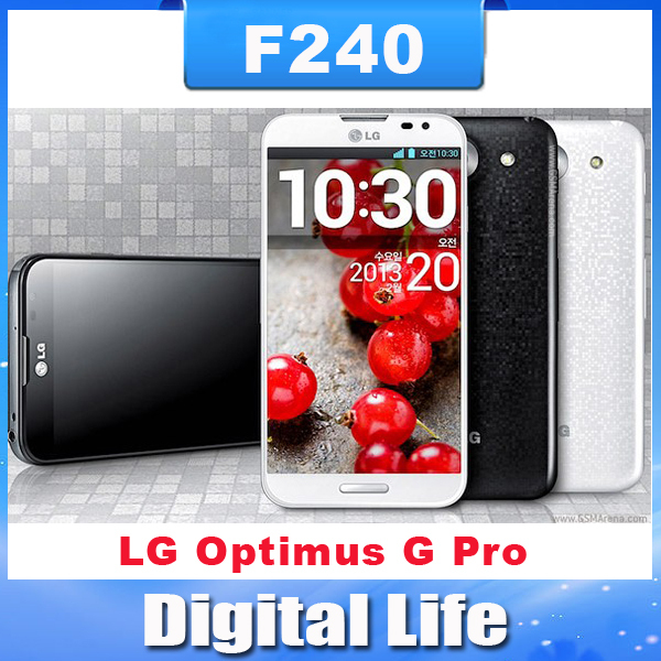 F240 Original LG Optimus G Pro F240L F240K F240S E980 E988 Quad-core 2G RAM+ 32G ROM 1.7 GHz 13MP Camera GPS WIFI mobile phone(China (Mainland))