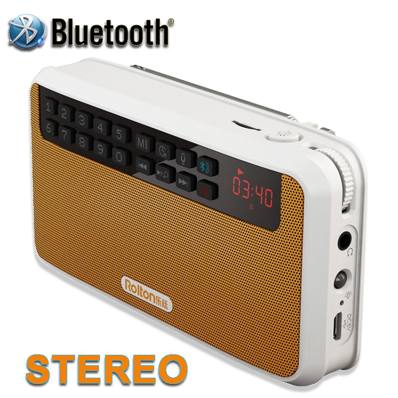 Free Shpping 2016 NEW Portable Mini Bluetooth Speakers Wireless Smart Hands Free Speaker With FM Radio Support USB disk TF Card<br><br>Aliexpress