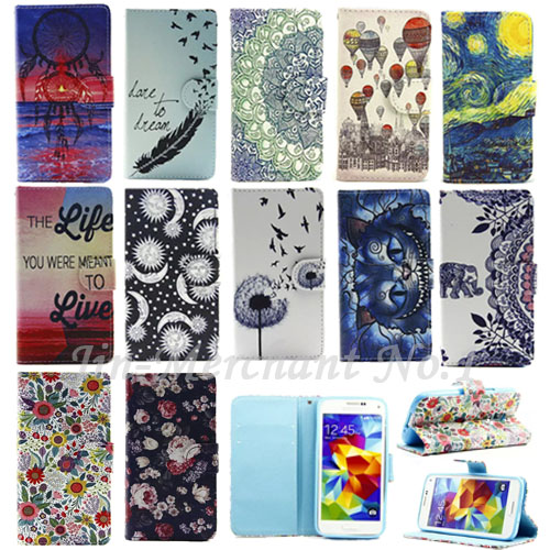 2016 New Flip Wallet Leather for Samsung Galaxy S3 i9300 S4 i9500 S5 i9600 mini S6 edge Card Holder Phone Case Cover Bags(China (Mainland))