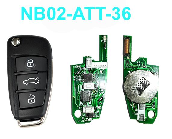 Nb02-att-36 NB NB-ATT-36 английская версия дистанционного ключа для KD900 устройство, Kd200 remotel, Ключ DIY дистанционного