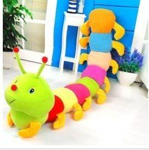 Gaga deals price NEW baby toys Colorful caterpillars millennium bug doll plush toys large caterpillar hold pillow doll