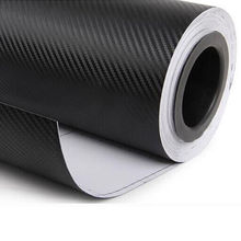 30cmx127cm 3D Carbon Fiber Vinyl Car Wrap Sheet Roll Film Car Stickers And Decals Motorcycle Car styling Accessories automobiles(China (Mainland))