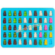 50 Cavity Silicone Gummy Bear Chocolate Mould Candy Maker Ice Tray Novelty(China (Mainland))